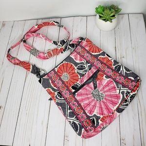 Vera Bradley Pink Floral Crossbody Bag
